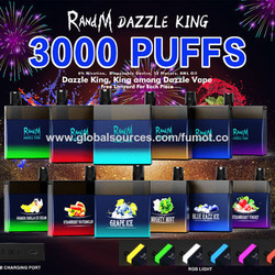R AND K DAZZLE KING 3000 PUFFS