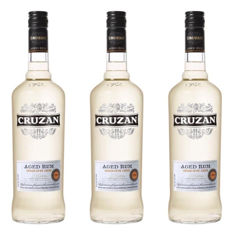 Cruzan Aged White Rum 750 ml