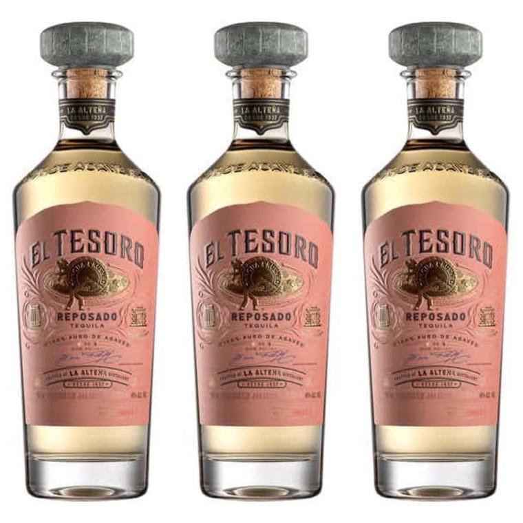 El Tesoro Reposado Tequila 750 ML