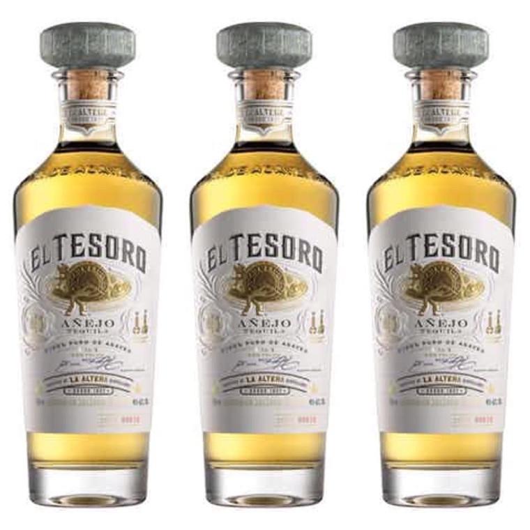 El Tesoro Tequila Anejo 750 ml