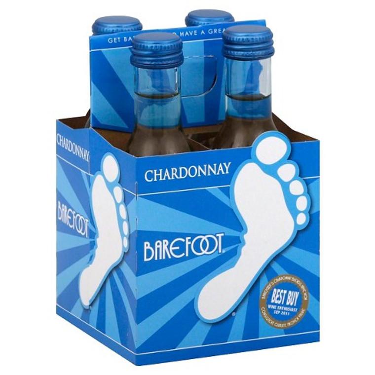 Barefoot Chardonnay 187mL 4 Pack