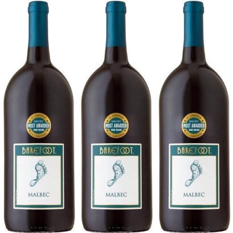 Barefoot Cellars Malbec Wine 1.5 L