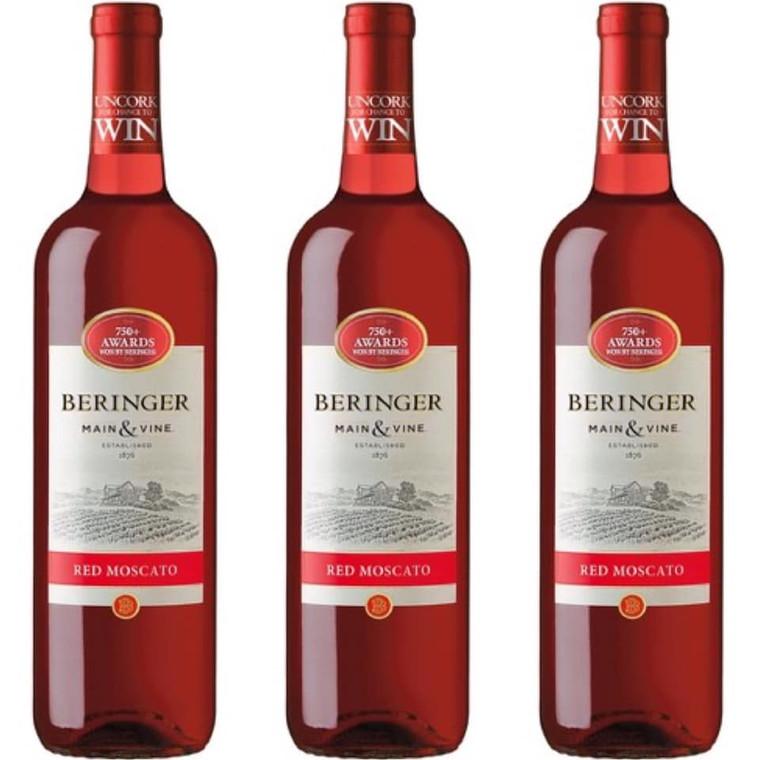 Beringer Red Moscato Wine 750 ml