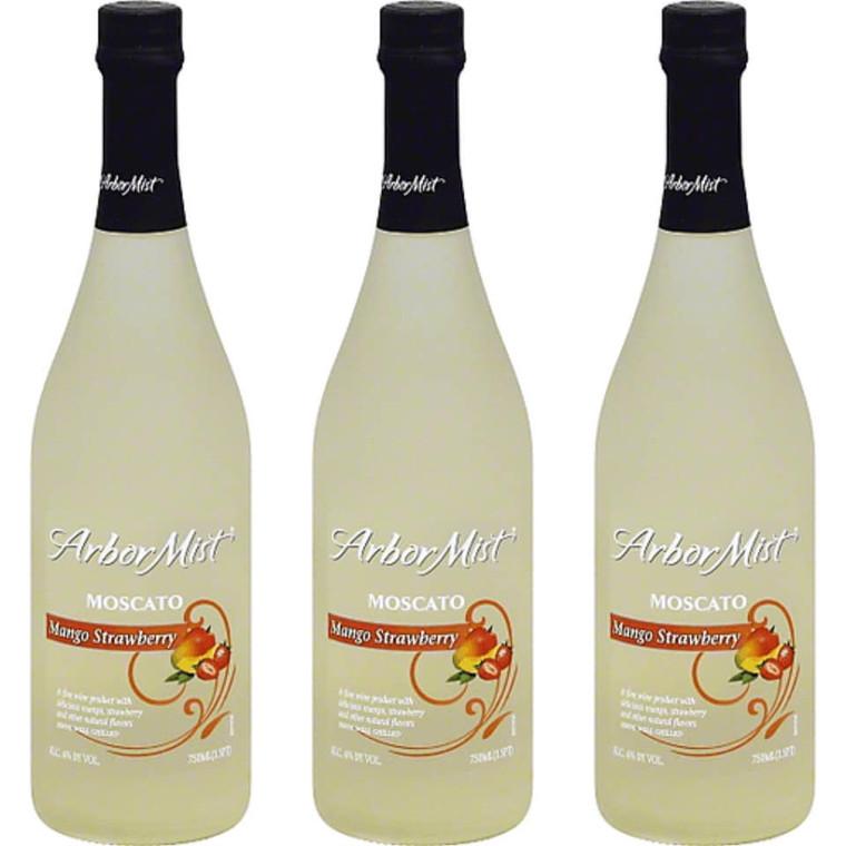 Arbor Mist Mango Strawberry Moscato Wine 750 ml