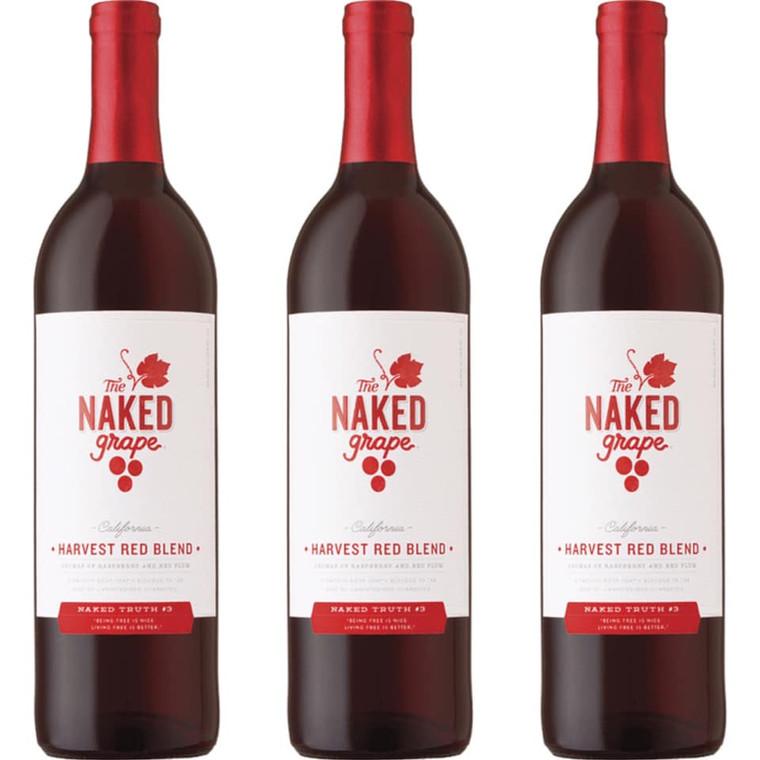 The Naked Grape Harvest Red Blend Wine - 750ml