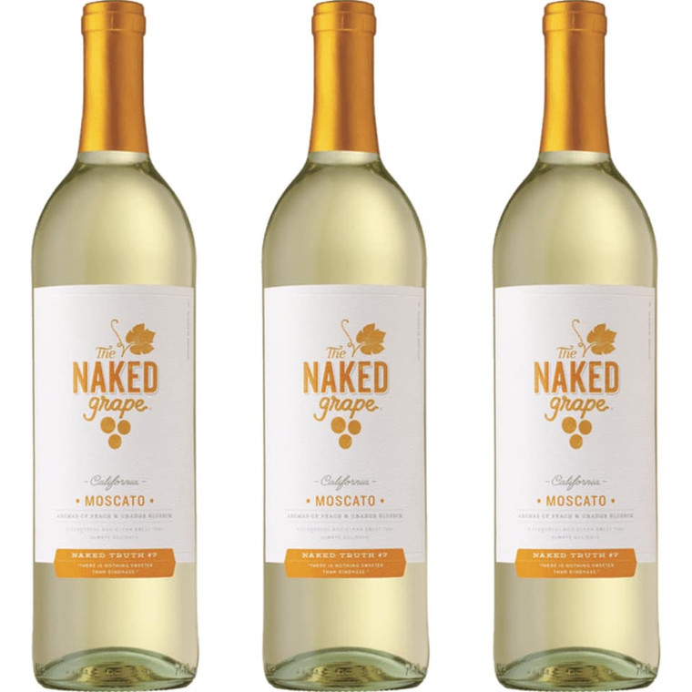 The Naked Grape Moscato Wine - 750mL