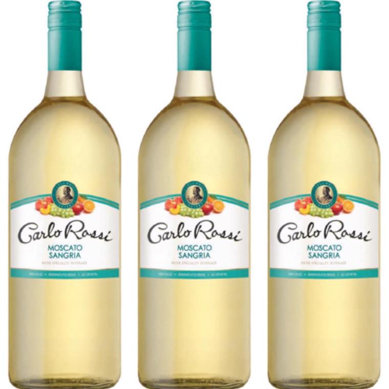 Carlo Rossi Moscato Sangria Wine 1.5 L
