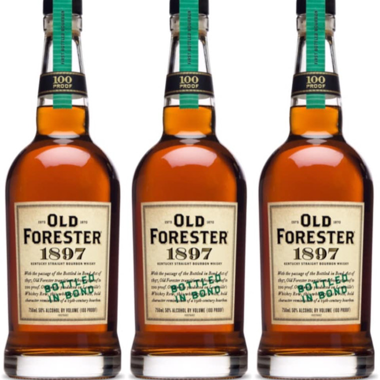 Old Forester 1897 Bottled in Bond Bourbon Whiskey  750 ml