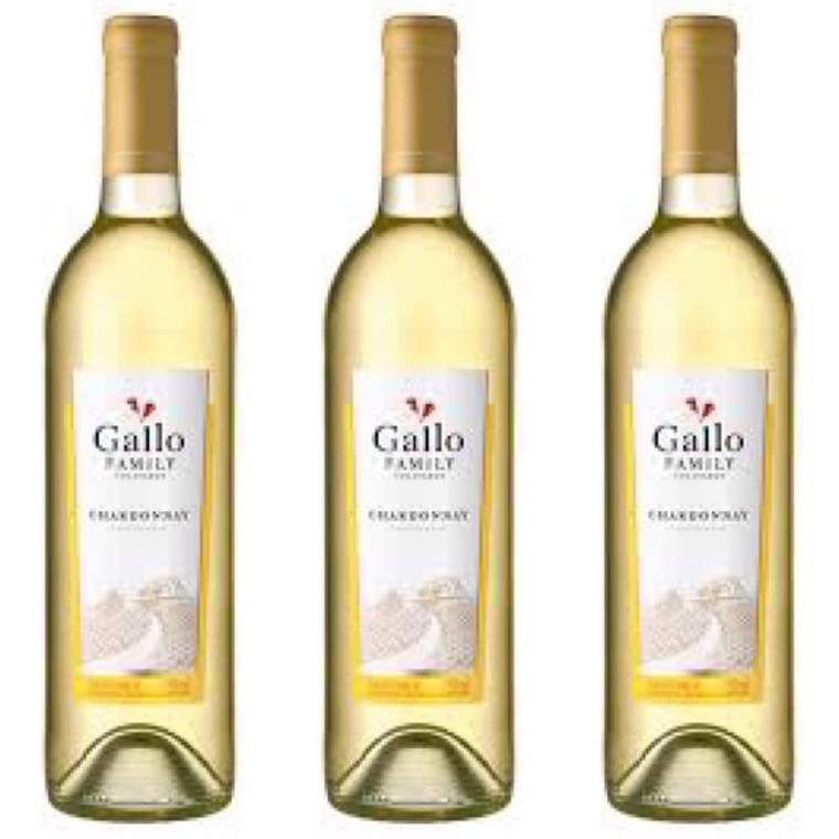 Gallo Family Vineyards Chardonnay Wine 750 ml