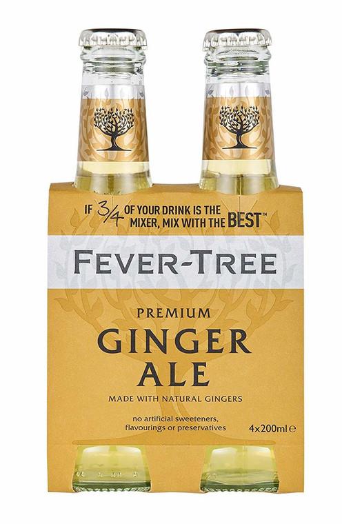 Fever Tree Ginger Ale 200 ml 4 Pack
