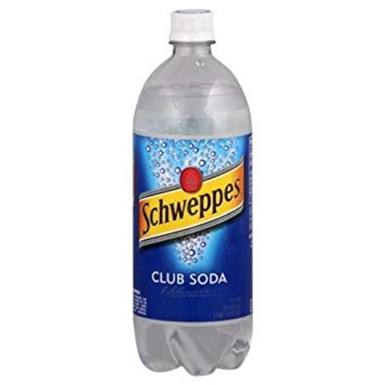 Schweppes Club Soda 1 L