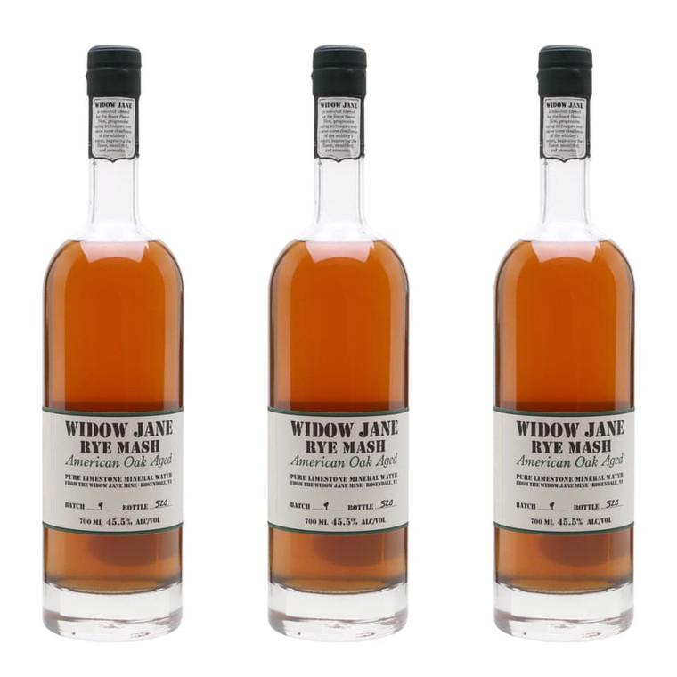 Widow Jane Rye Mash American Oak Aged Whiskey, 750 ml