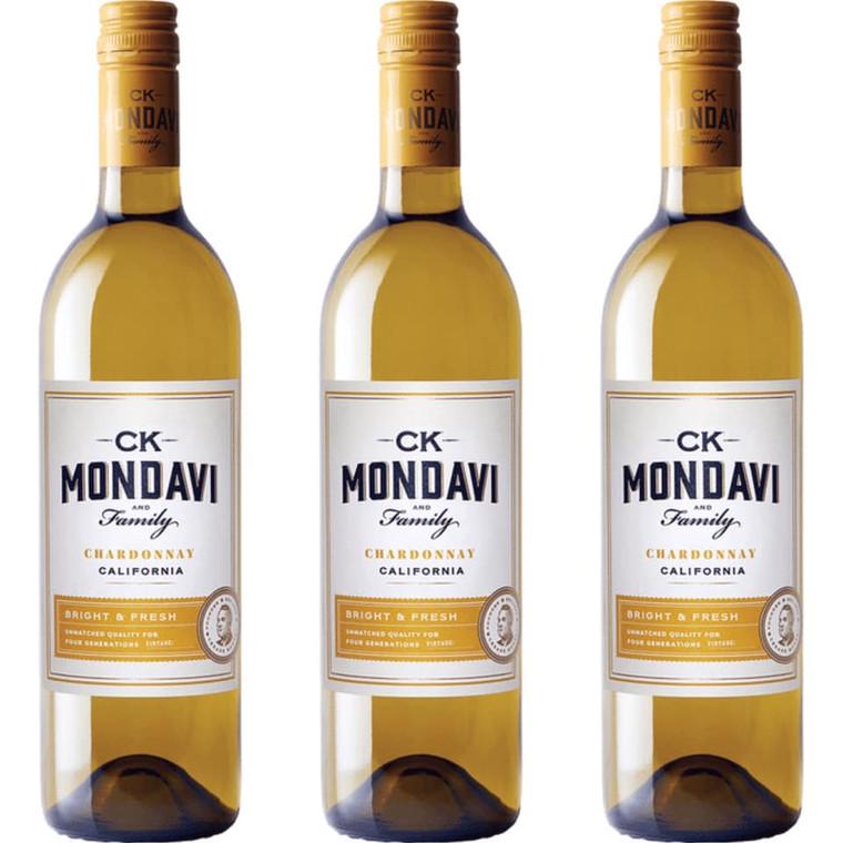 CK Mondavi Chardonnay California Wine 750 ml