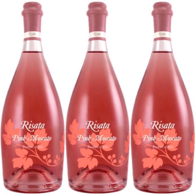 Risata Pink Moscato Wine 750 ml