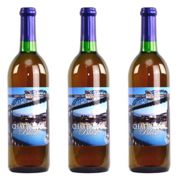 Georgia Winery - Chattanooga Blush Wine 750 ml