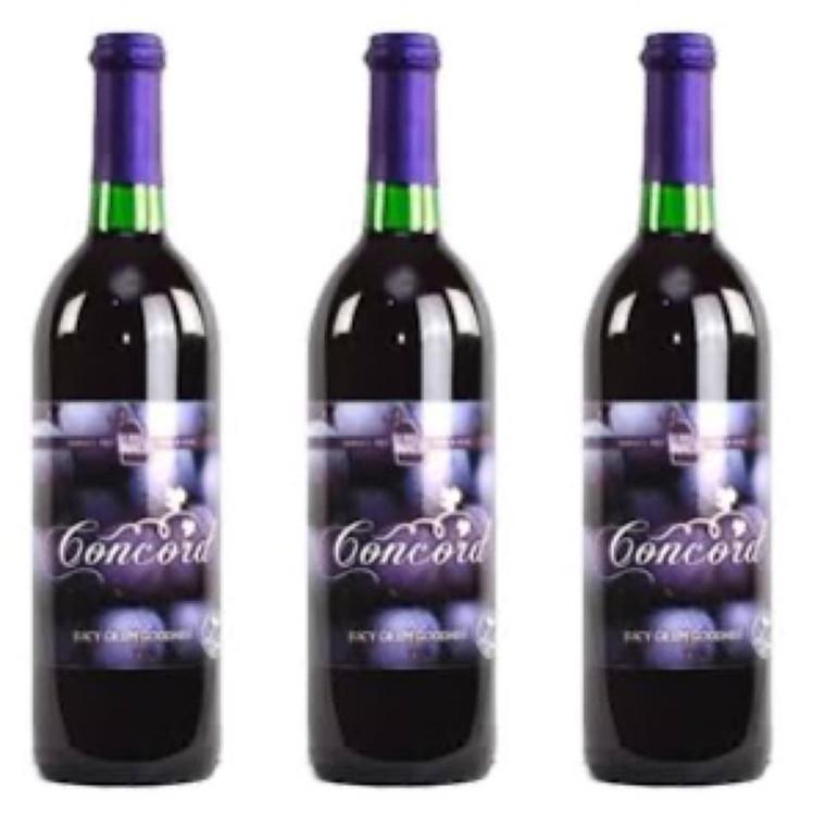 Georgia Winery - Concord - red wine 750 ML