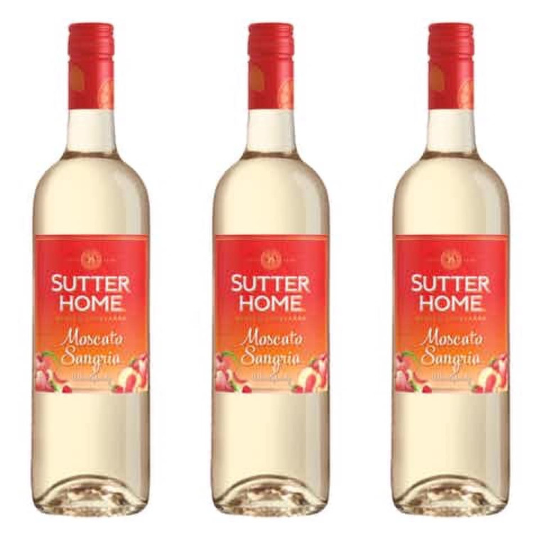Sutter Home Moscato Sangria Wine 750 ml