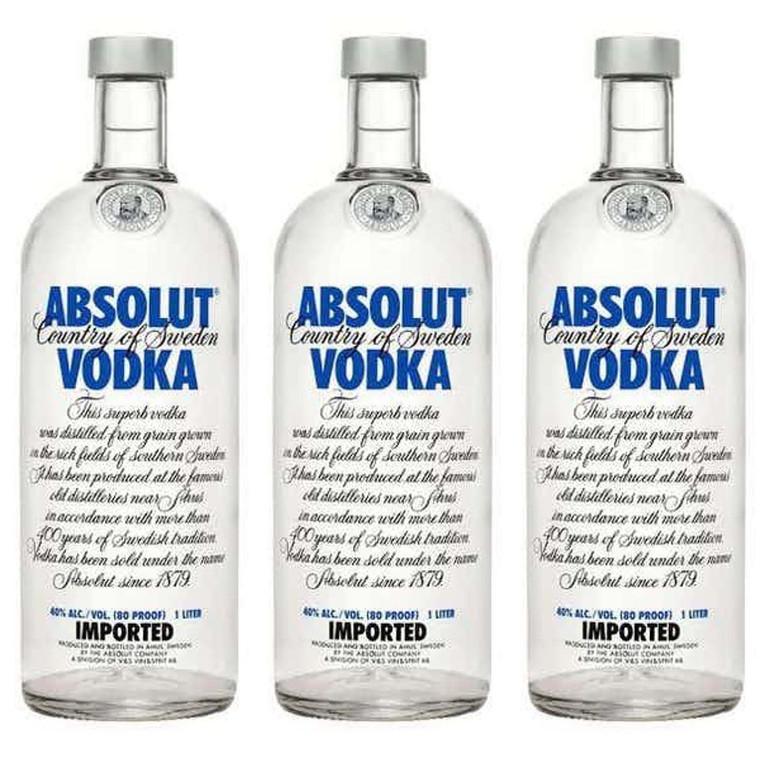 Absolut Blue Vodka 1 L