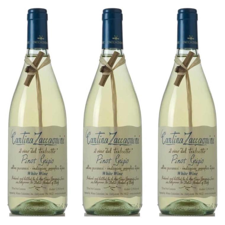 Cantina Zaccagnini Pinot Grigio Wine 750 ml