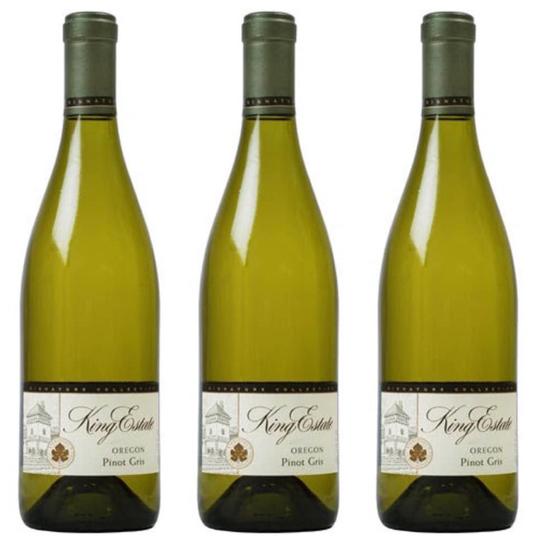 King Estate Pinot Gris Willamette Valley Wine 750 ml