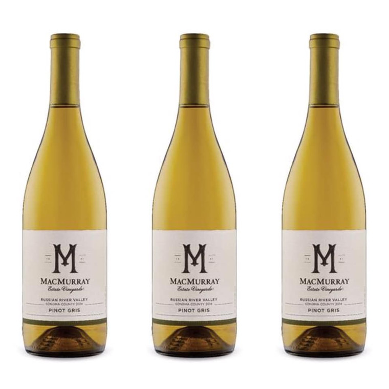 MacMurray Ranch Russian River Valley Pinot Gris Wine 750 ml