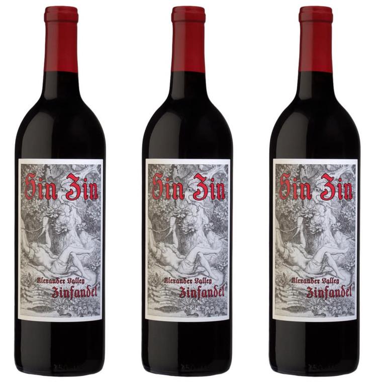 """Alexander Valley Vineyards, Zinfandel """"Sin Zin"""" 750 ml"""