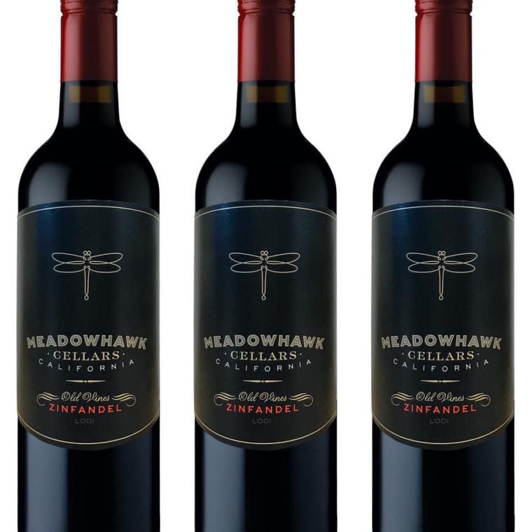 Meadowhawk Zinfandel Wine 750 mL