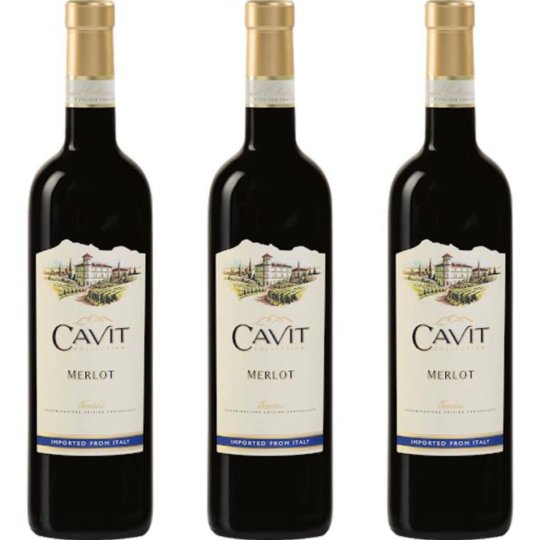 Cavit Merlot Wine - 750 ml