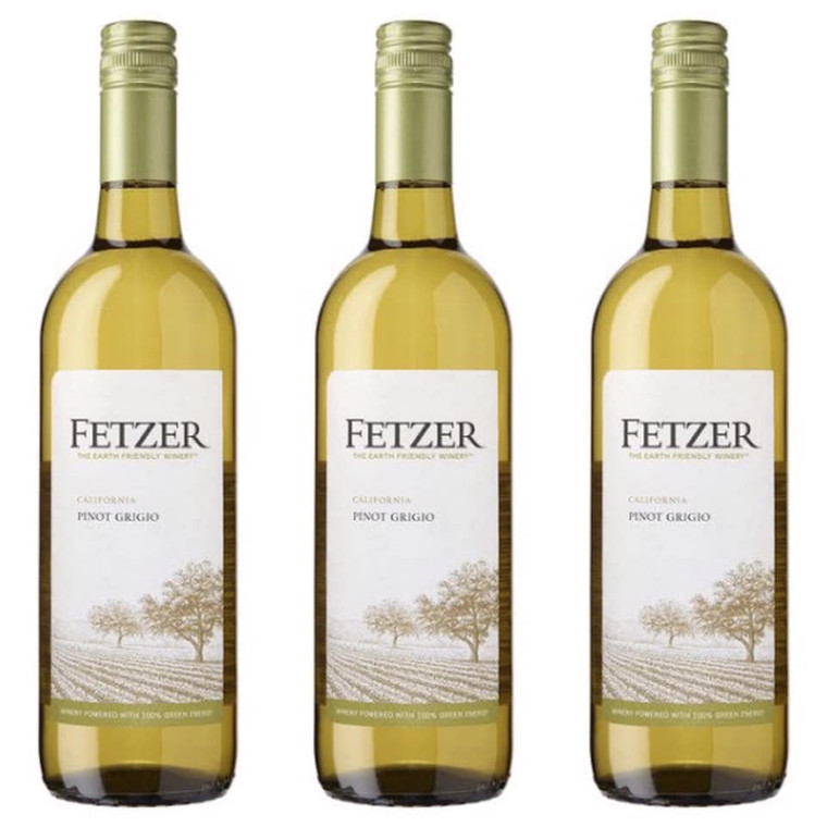 Fetzer Pinot Grigio Wine 750 ml