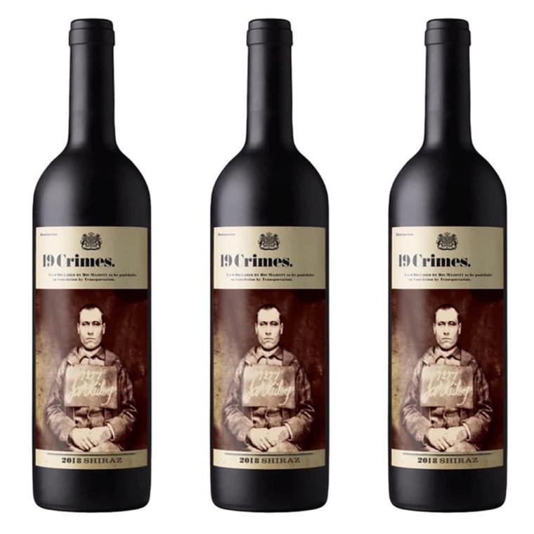 19 Crimes Shiraz Red Wine 750 ml