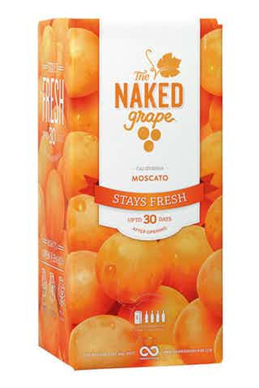 The Naked Grape Moscato Wine 3L