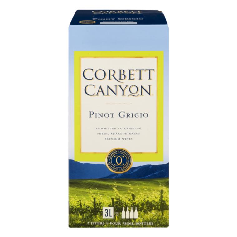 Corbett Canyon Wine Pinot Grigio Wine 3 L