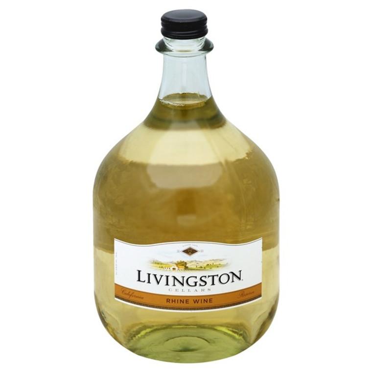 Livingston Cellars Wine, Rhine California Reserve Wine 3 L