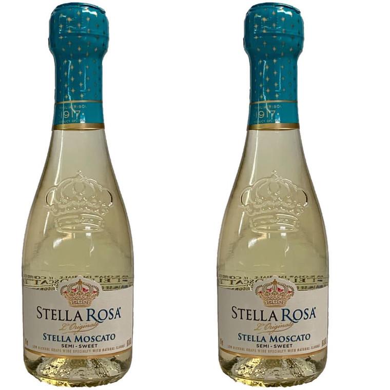 Stella Rosa Moscato Wine, 2 pack, 187 mL