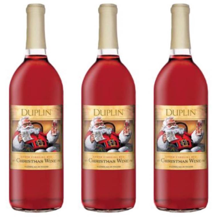 DUPLIN WINE CELLARS CHRISTMAS RED WINE 750 ML
