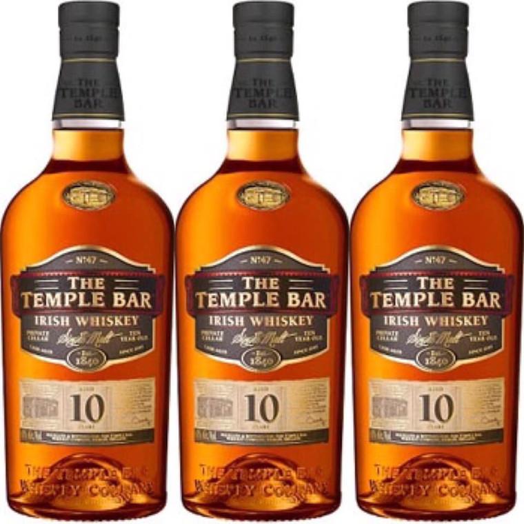 The Temple Bar - 10 Yr Single Malt Irish Whiskey 750 ml