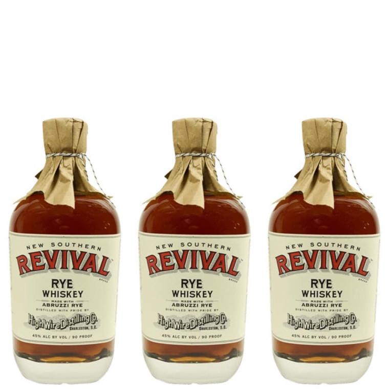 New Southern Revival Abruzzi Rye Whiskey 750 ml