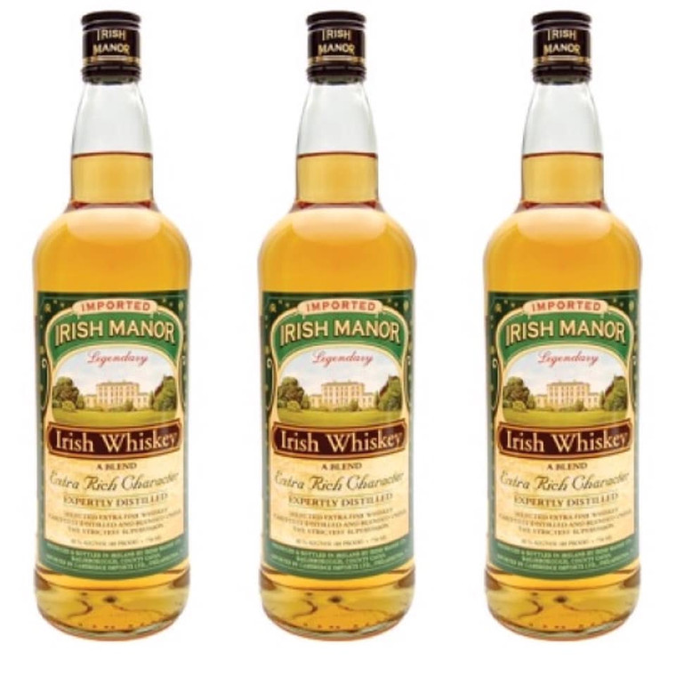 Irish Manor, Whiskey 750 ML