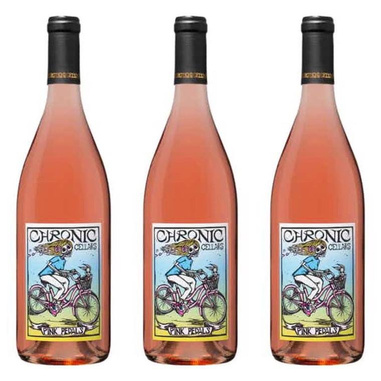 Chronic Cellars Pink Pedals Wine 750 ml