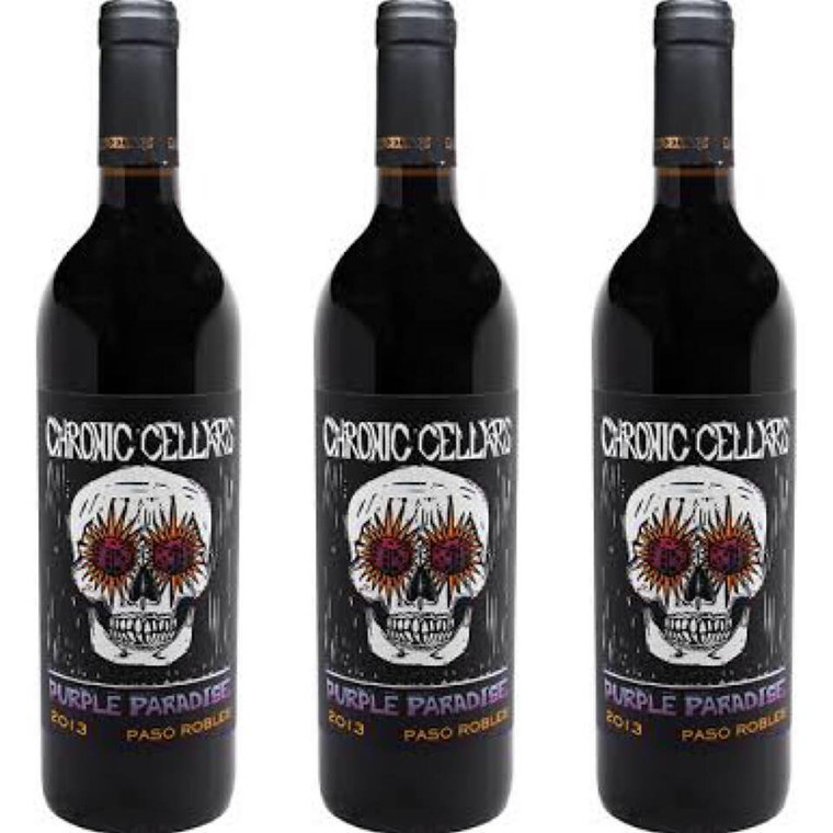 Chronic Cellars Paso Robles Purple Paradise Wine 750 ml