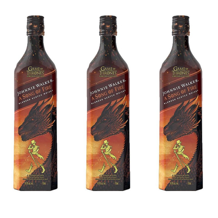 Johnnie Walker A Song of Fire Blended Scotch Whiskey 750 ml
