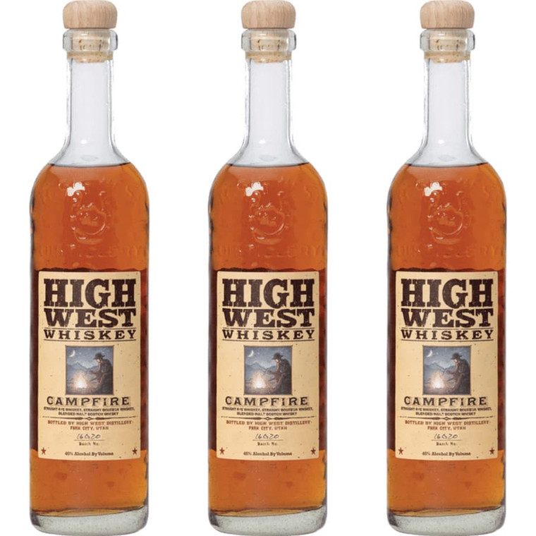 HIGH WEST CAMPFIRE WHISKEY 750 ML