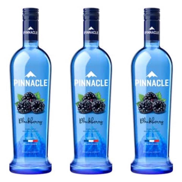 PINNACLE BLUEBERRY VODKA 1.75 L