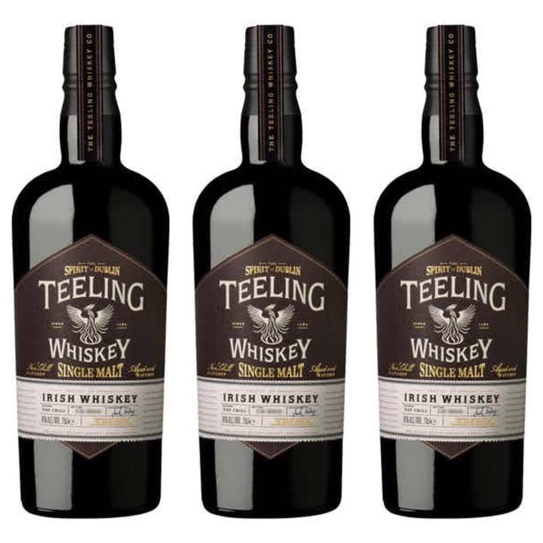 TEELING SINGLE MALT IRISH WHISKEY 750 ML