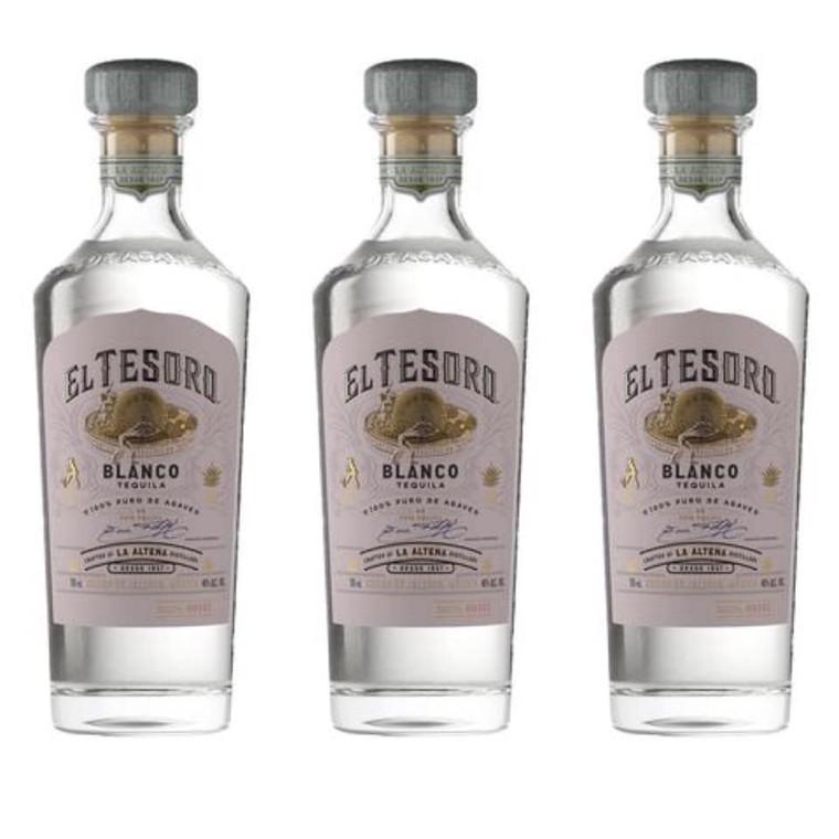 El Tesoro Blanco Tequila 750 ml
