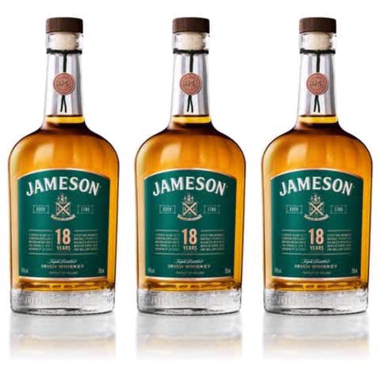 Jameson 18 Years Irish Whiskey 750 ml