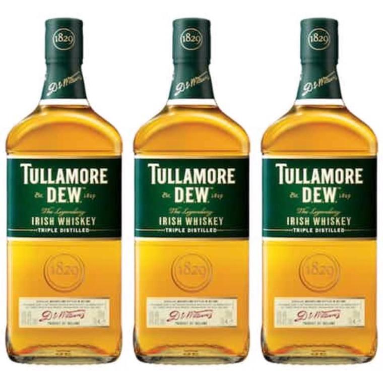 Tullamore D.E.W., The Legendary Irish Whiskey · 750 mL