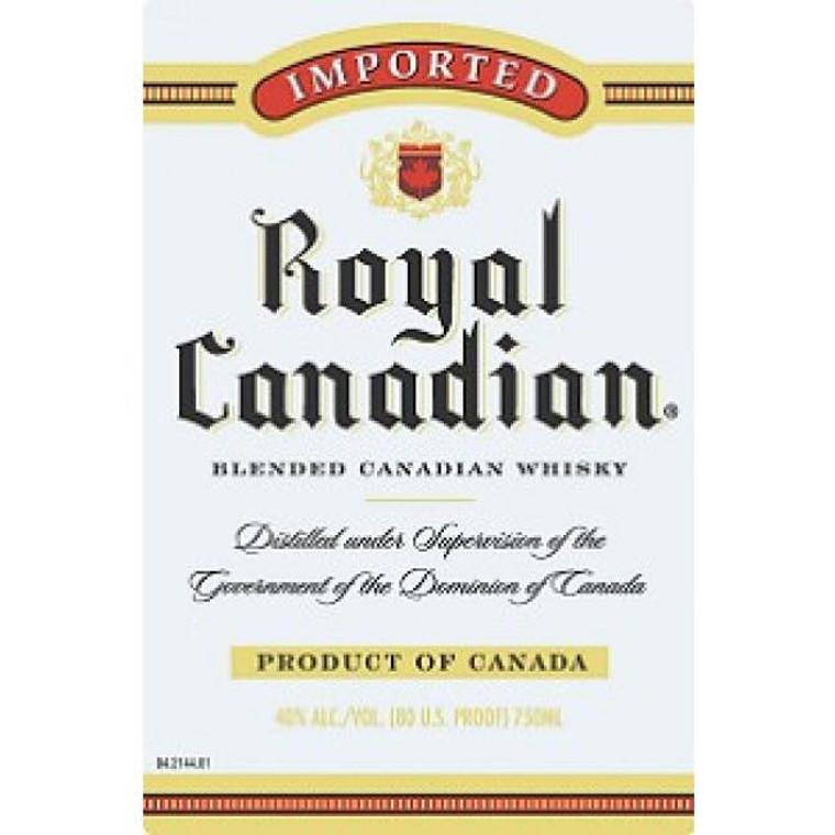 Royal Canadian Blended Whiskey 750 ml