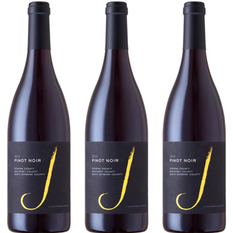 J Vineyards Black Pinot Noir Wine 750 ml
