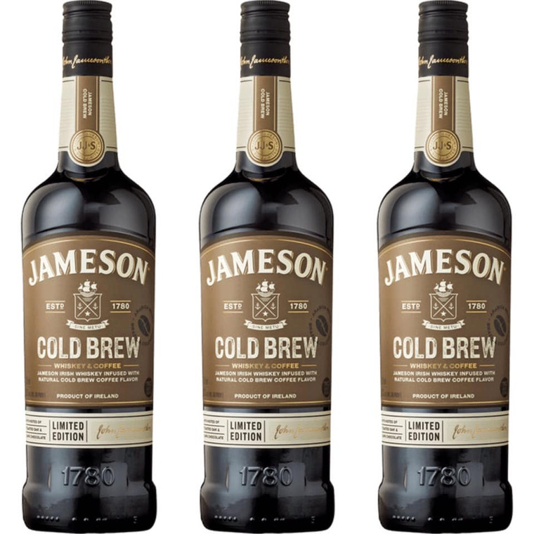 JAMESON COLD BREW IRISH COFFEE WHISKEY 750 ML